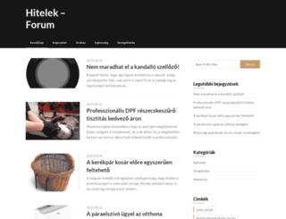 hitelek.forum.hu screenshot