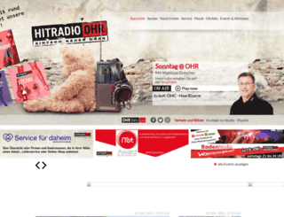hitradio-ohr.de screenshot