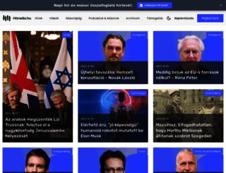 hitradio.hu screenshot