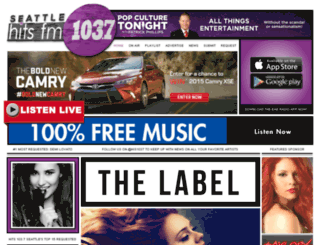 hits1037stl.com screenshot