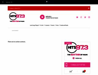 hits973.upickem.net screenshot