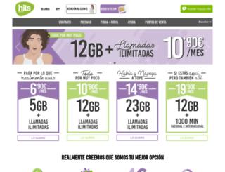 hitsmobile.es screenshot