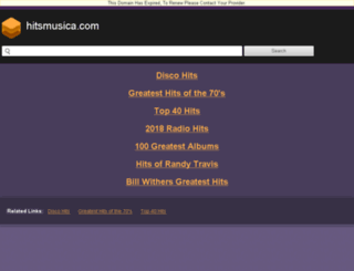 hitsmusica.com screenshot