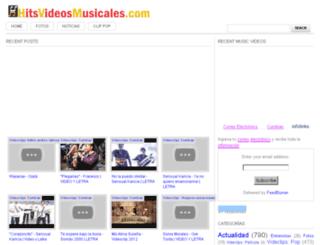 hitsvideosmusicales.blogspot.com screenshot