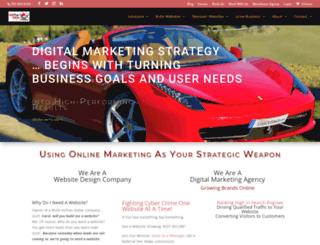 hitthewebmarketing.com screenshot