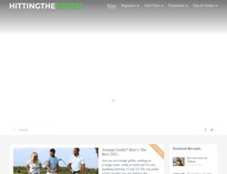 hittingthegreen.com screenshot