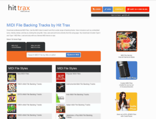 hittrax.com.au screenshot