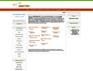 hitwebdirectory.com screenshot