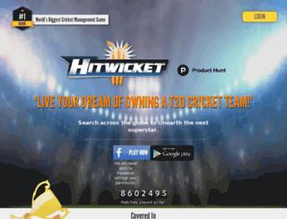 hitwicket.co screenshot