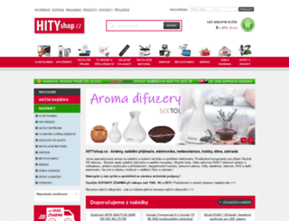 hityshop.cz screenshot