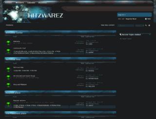 hitzwarez.net screenshot