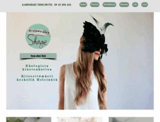 hiushuonestage.fi screenshot