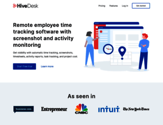 hivedesk.com screenshot