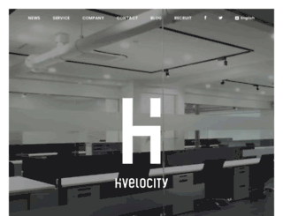hivelocity.co.jp screenshot