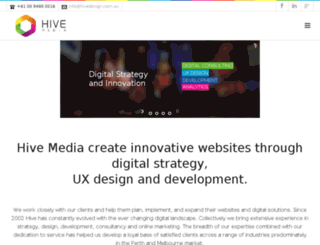 hivemedia.com.au screenshot