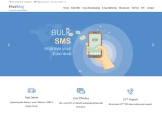 hivemsg.com screenshot