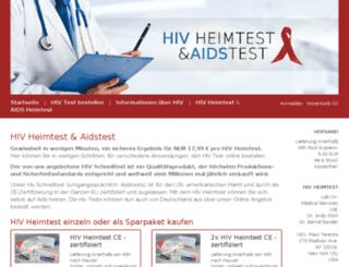hivheimtests.de screenshot