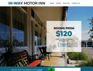 hiwaymotorinn.com.au screenshot