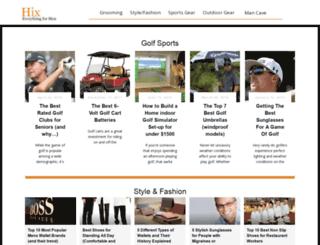 hixmagazine.com screenshot