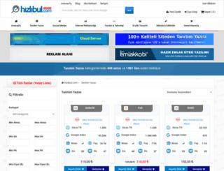 hizlitanitim.com screenshot
