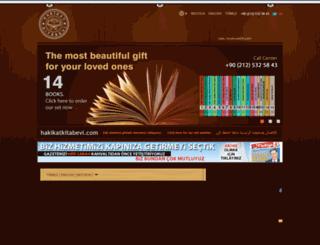 hizmetbooks.org screenshot
