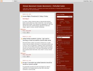 hizmetmovement.blogspot.com screenshot