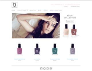 hjmanicure.com screenshot