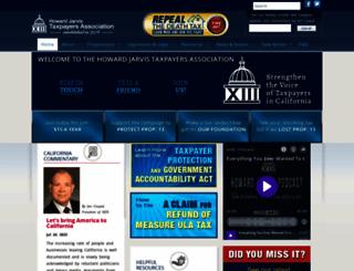 hjta.org screenshot
