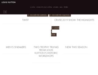 hk.louisvuitton.com screenshot