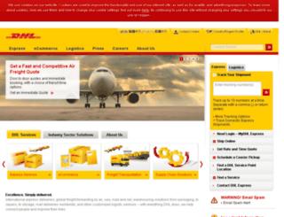hkapps.dhl.com.hk screenshot