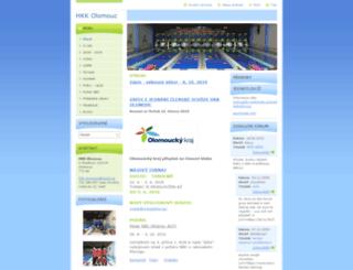 hkk-olomouc.webnode.cz screenshot