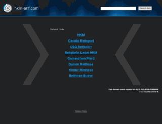 hkm-arif.com screenshot