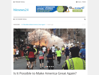hknews24.com screenshot