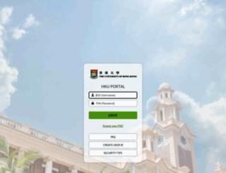 hkuportal.hku.hk screenshot