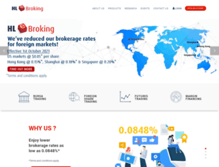 hlebroking.com screenshot
