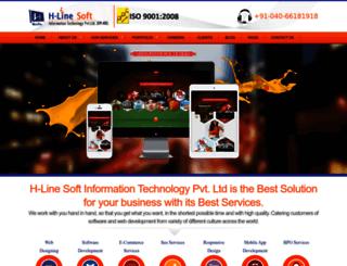 hlinesoft.com screenshot
