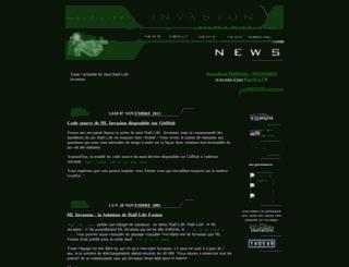 hlinvasion.free.fr screenshot