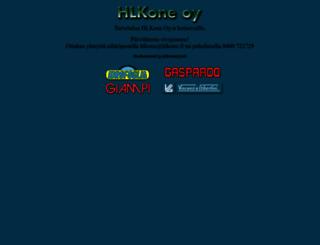 hlkone.fi screenshot