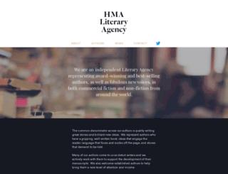 hmaliteraryagency.com screenshot