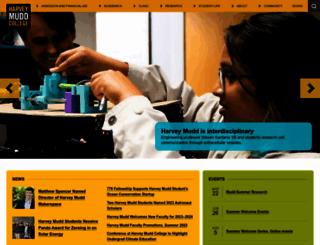 hmc.edu screenshot