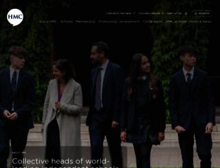 hmc.org.uk screenshot