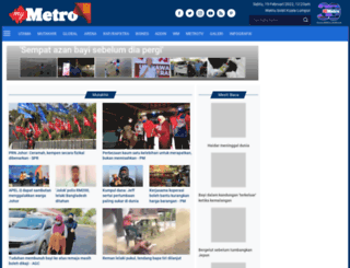 hmetro.com.my screenshot