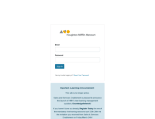 hmhreps.digitalchalk.com screenshot