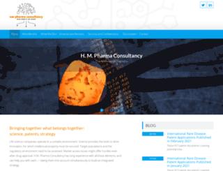 hmpharmacon.com screenshot