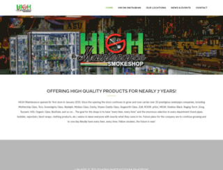 hmsmokeshop.com screenshot