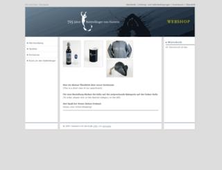 hmtshop.dev4u.de screenshot