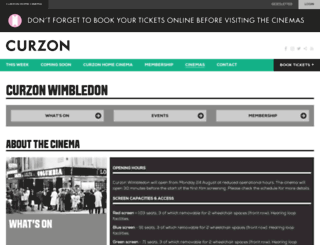 hmvcurzon.com screenshot
