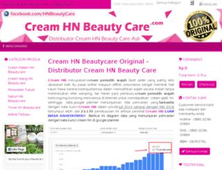 hnbeautycare.com screenshot