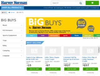 hnbigbuys.com.au screenshot