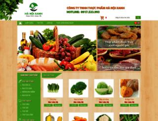 hnx.com.vn screenshot